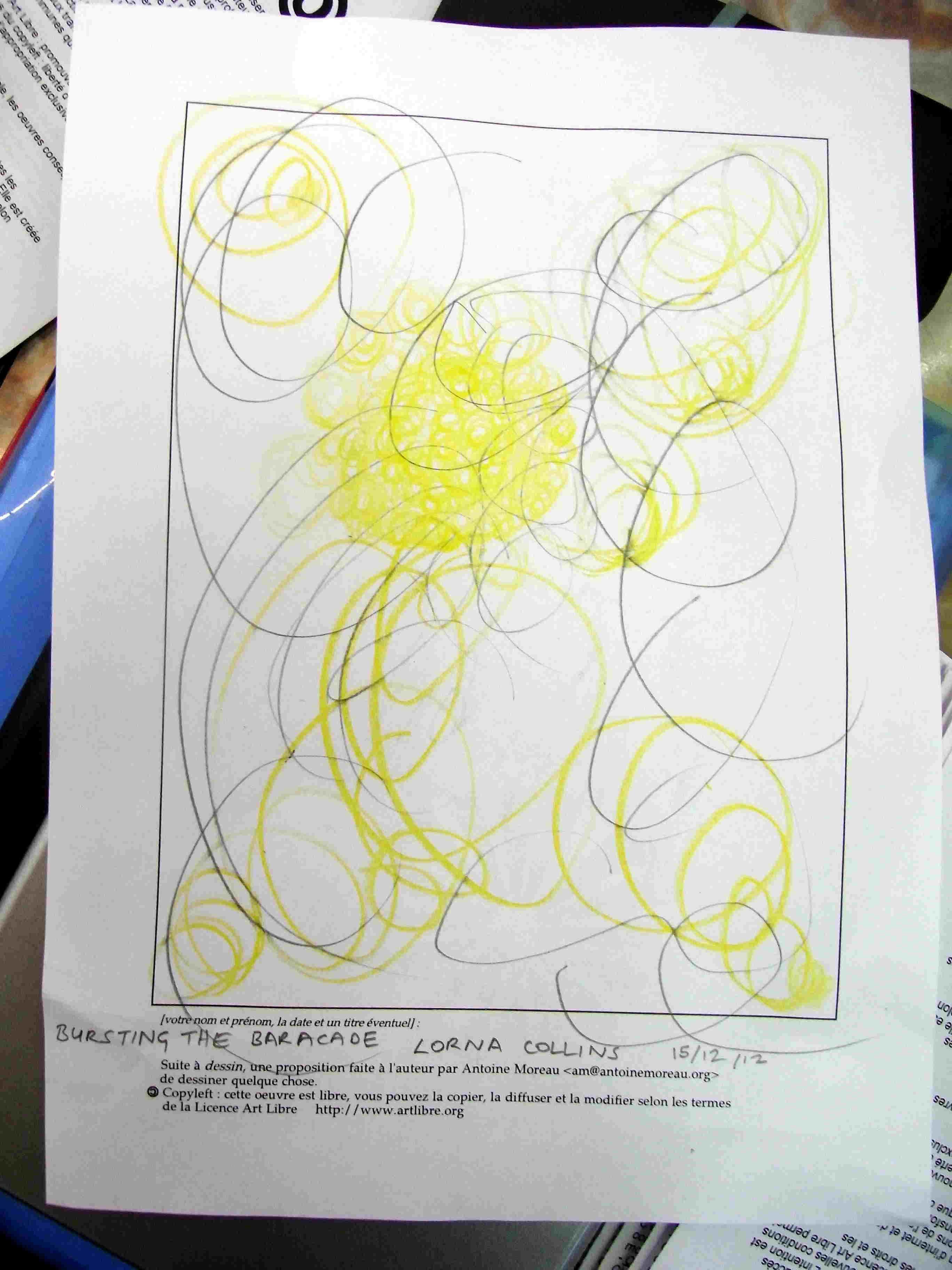 Lorna Collins Making drawing Making Sense 1st step