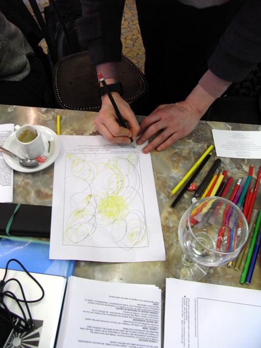 Lorna Collins Making Sense Art Parcours 1st session